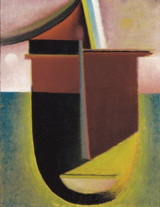Alexej von Jawlensky - Abstracte kop: Licht en Duisternis
