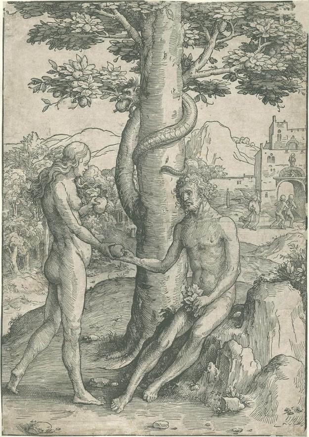 Lucas van Leyden - de Zondeval