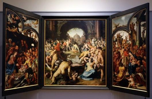 Maarten van Heemskerck - de Kindermoord van Bethlehem