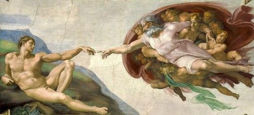 Michelangelo - de Creatie van Adam