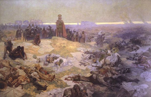 Alfons Mucha - After the Battle of Grunwald
