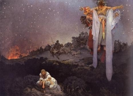 Alfons Mucha - De Slaven in hun originele thuisland