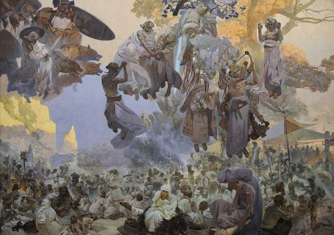 Alfons Mucha - The Celebration of Svantovit