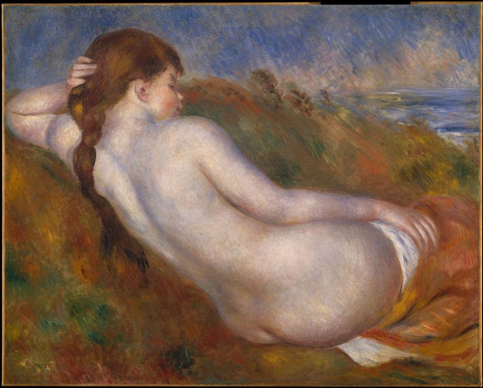 Pierre-Auguste Renoir - Liggend naakt