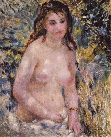 Pierre-Auguste Renoir - Studie Torso