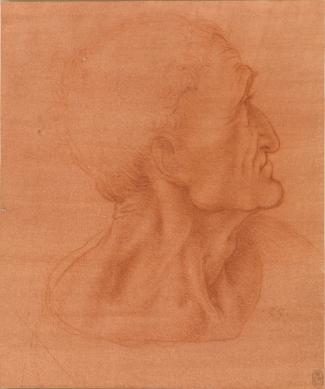 Leonardo da Vinci - Studie voor Judas