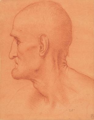 Leonardo da Vinci - Studie voor Simon