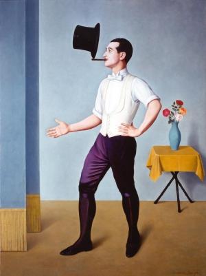 Antonio Donghi - Il Giocoliere