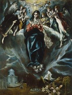 El Greco - Onbevlekte Ontvangenis
