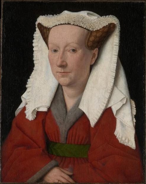 Jan van Eyck - Portret van Margareta van Eyck