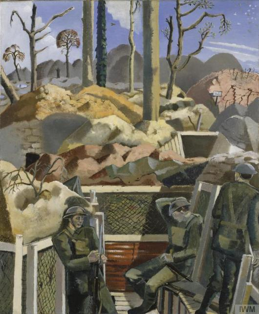 Paul Nash - Spring in the Trenches