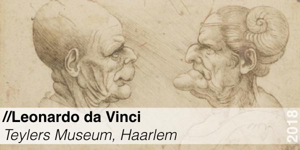 Tentoonstelling - Leonardo da Vinci - Teylers Museum