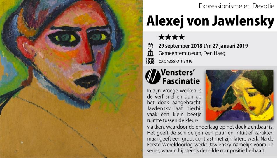 Tentoonstelling - Alexej von Jawlensky - Gemeentemuseum