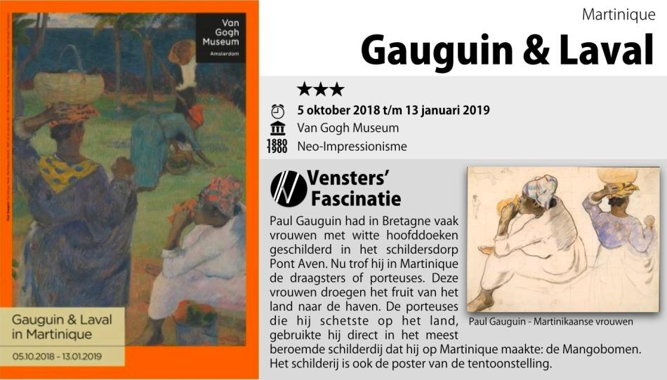 Tentoonstelling - Gauguin en Laval - van Gogh Museum