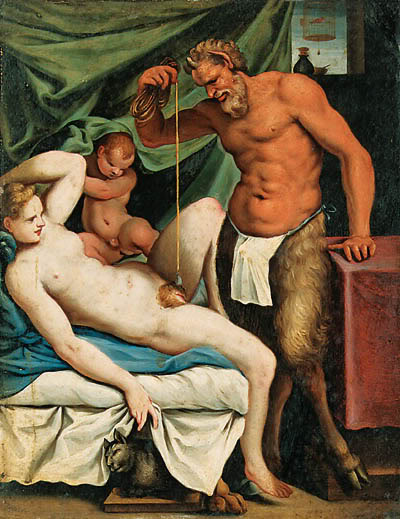 Agostino Carracci - Satyr