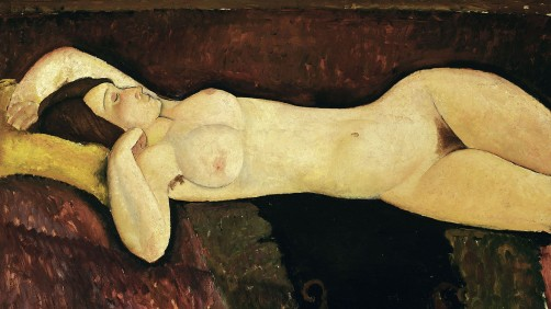 Amedeo Modigliani - Liggend naakt