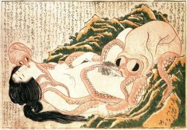 Hokusai - Tako to ama