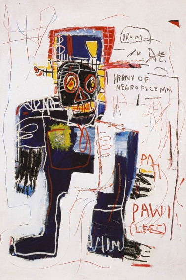 Jean Michel Basquiat - The Irony of a Negro Policeman