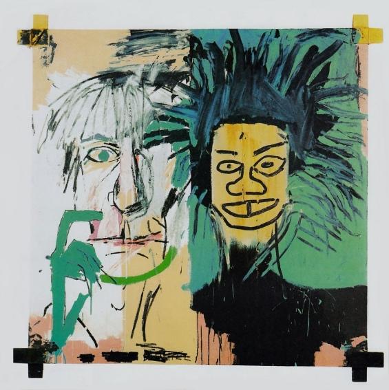 Jean Michel Basquiat - Dos Cabezas