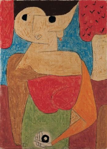Paul Klee - Omphalo-centrischer Vortrag, 1939