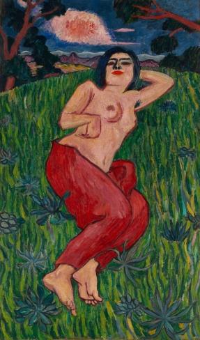 Yorozu Tetsugoro - Nude Beauty, 1912