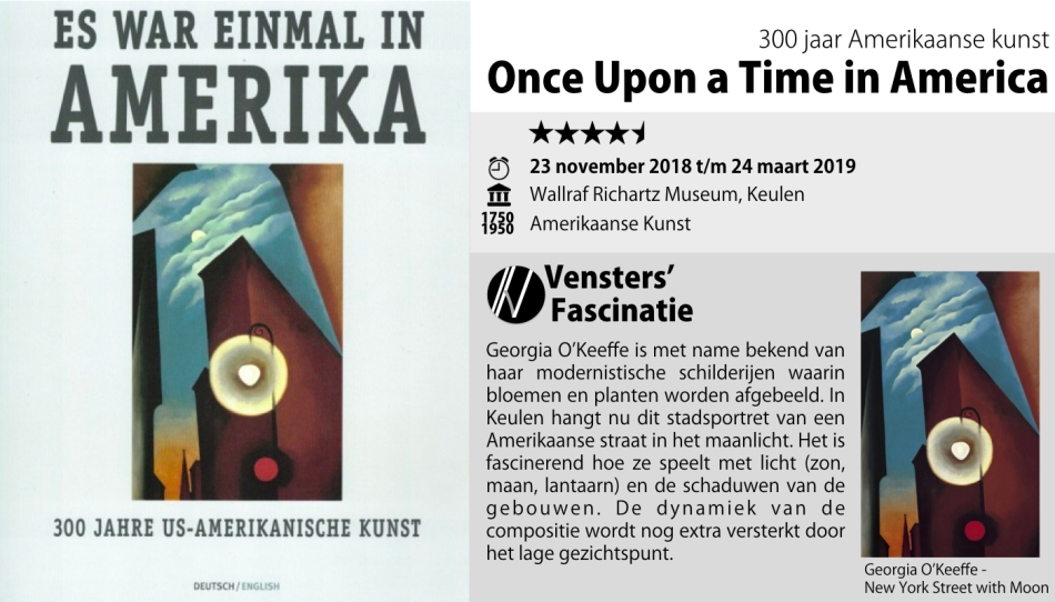 Tentoonstelling - Once upon a time in America - Keulen