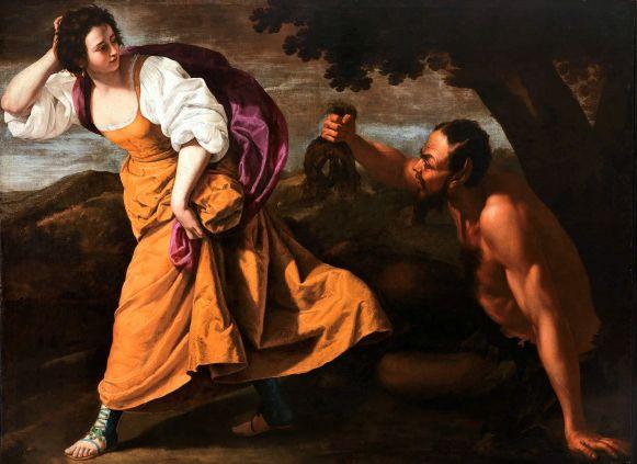 Artemisia Gentileschi - Corisca en de Satir