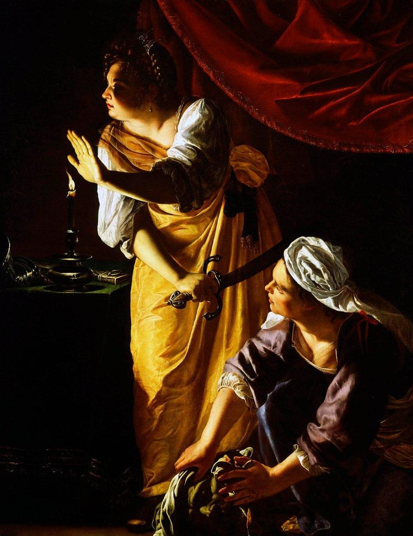 Artemisia Gentileschi - Judith met het Hoofd van Holofernes
