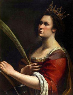 Artemisia Gentileschi - St Catherina van Alexandrië
