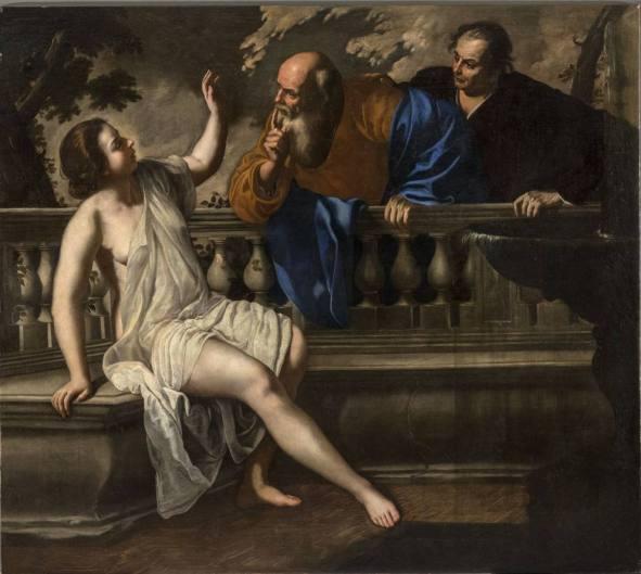 Artemisia Gentileschi - Susanna en de Ouderlingen