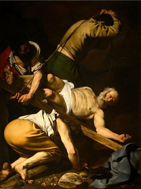 Caravaggio - de Kruisiging van Petrus
