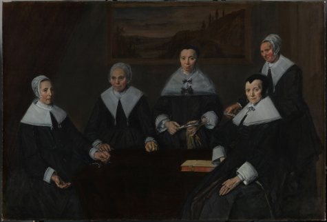 Frans Hals - Regentessen van het Oude Mannen Huis