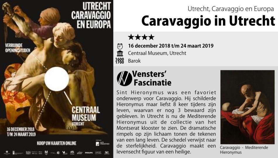 Tentoonstelling Centraal Museum Caravaggio