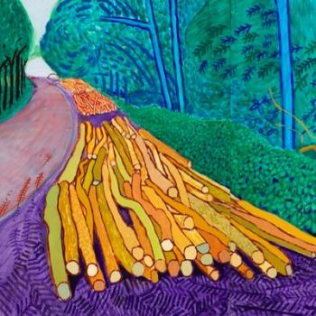 Hockney - Van Gogh
