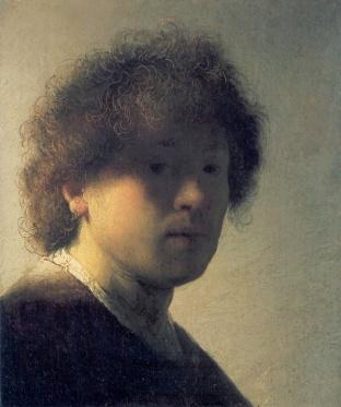 Rembrandt - Zelfportret (1628)