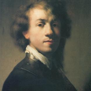 Rembrandt - Zelfportret (1629)