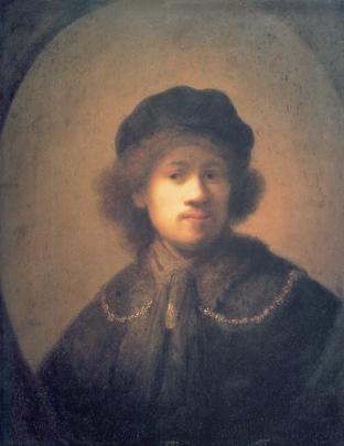 Rembrandt - Zelfportret (1630)