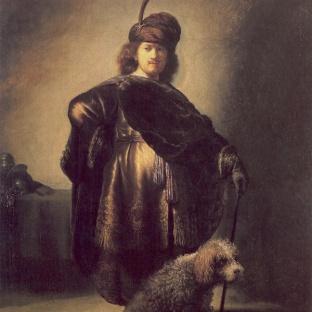 Rembrandt - Zelfportret (1631)