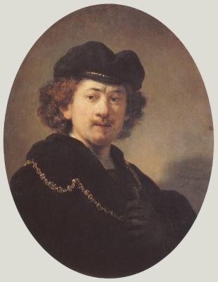 Rembrandt - Zelfportret (1633)