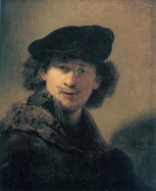 Rembrandt - Zelfportret (1634)