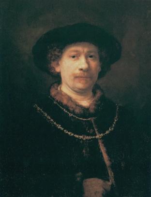 Rembrandt - Zelfportret (1642)