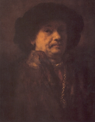 Rembrandt - Zelfportret (1655)