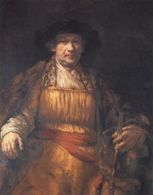 Rembrandt - Zelfportret (1658)