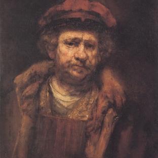 Rembrandt - Zelfportret (1659)