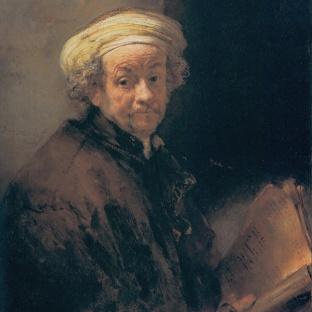 Rembrandt - Zelfportret (1661)