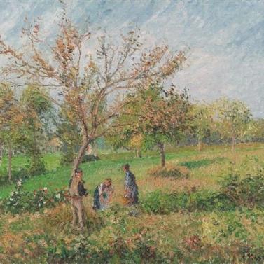 Camille Pissarro - Lente