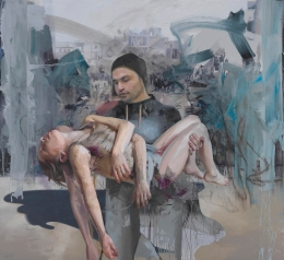 Jenny Saville - Blue Pieta