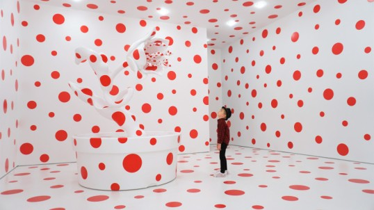 Yayoi Kusama - Polka dot room