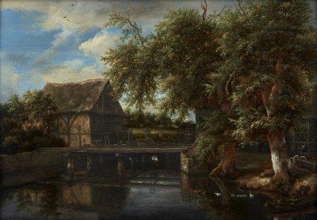 Jacob van Ruijsdael - de Watermolen