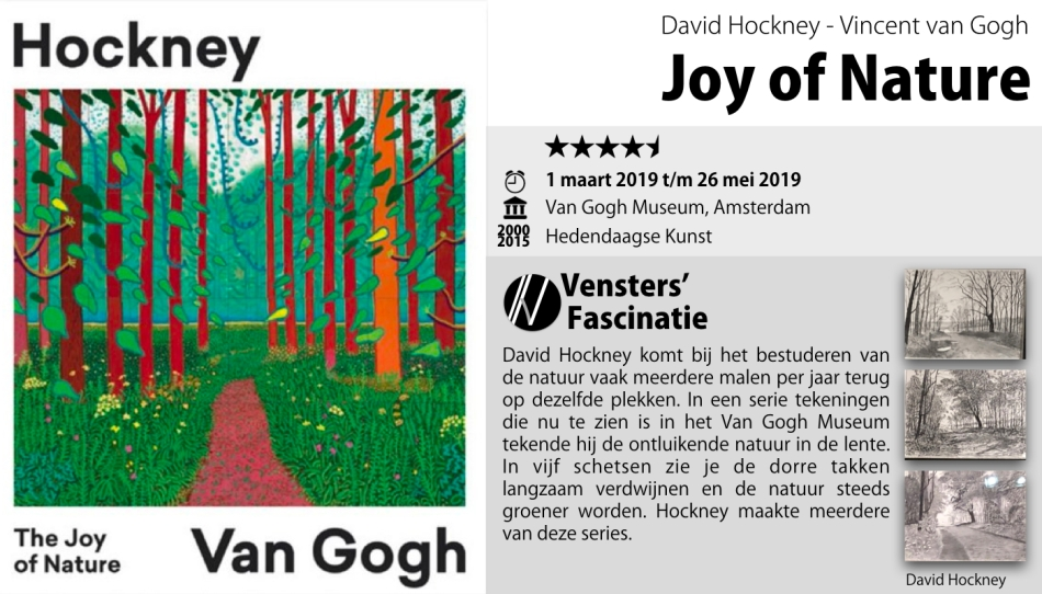 Hockney Van Gogh Joy of Nature - Van Gogh Museum